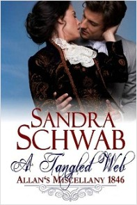 cover of A Tangled Web, by Sandra Schwab