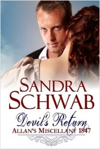 cover of Devil's Return, by Sandra Schwab